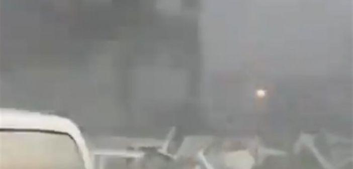 Φλώρινα: Bίντεο με θυελλώδεις ανέμους άνω των 100 χιλιομέτρων