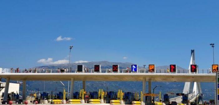 Γέφυρα Ρίου – Αντιρρίου: Κυκλοφοριακές ρυθμίσεις για την αναστροφή τμημάτων ανεμογεννητριών