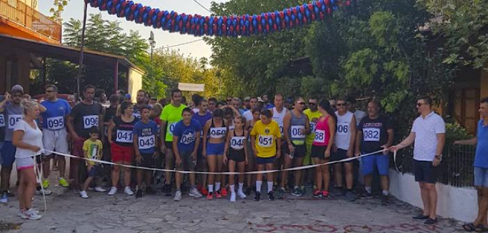 Μεγάλη συμμετοχή στον αγώνα δρόμου Βάρνακας – Μύτικας (ΦΩΤΟ)