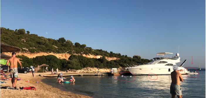 Αιτωλοακαρνανία: Συνεχείς οι καταγγελίες για σκάφη δίπλα σε λουόμενους (ΦΩΤΟ)