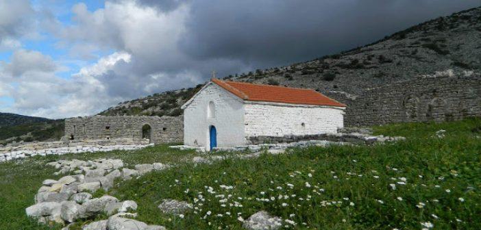 Το μοναστήρι της Παναγίας Ζαπατίνας στο Αρχοντοχώρι Ξηρομέρου (ΦΩΤΟ)