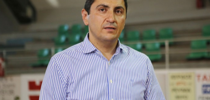 Στη Ναύπακτο το Σάββατο ο υφυπουργός αθλητισμού Λευτέρης Αυγενάκης