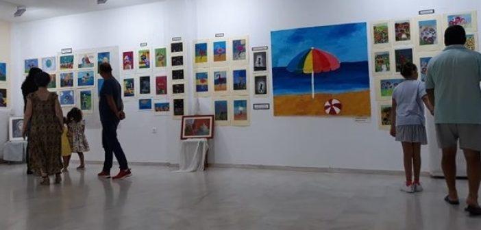 Αμφιλοχία: Οι μαθητές του Τμήματος Ζωγραφικής παρουσίασαν τα έργα τους στο Λουτρό Αμφιλοχίας (ΔΕΙΤΕ ΦΩΤΟ)