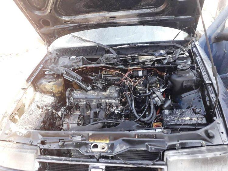 Λαμπάδιασε όχημα κοντά στη διασταύρωση της Συκιάς (ΔΕΙΤΕ ΦΩΤΟ)