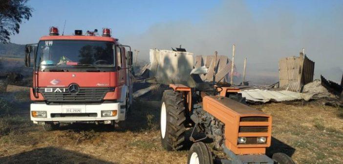 Αστακός: Φωτιά στο Βαλτί απείλησε περιουσίες (ΔΕΙΤΕ ΦΩΤΟ)