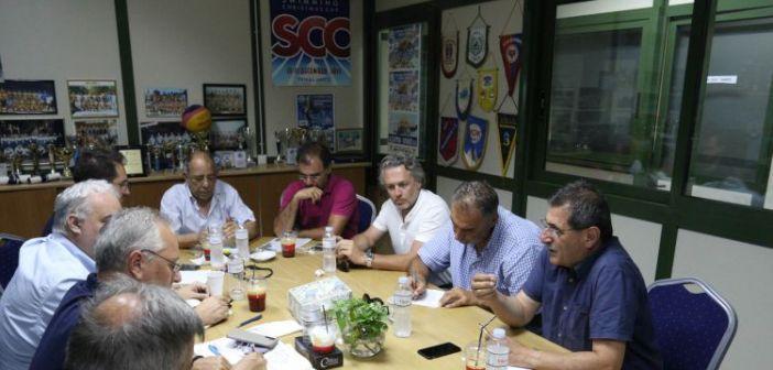 Σύσκεψη Οργανωτικής Επιτροπής, Δήμου Πατρέων και Αστυνομίας  για τους Μεσογειακούς Αγώνες (ΦΩΤΟ)