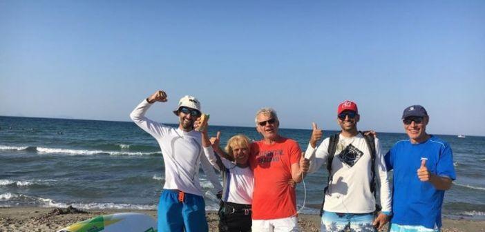 Σύμβολο δύναμης η 81χρονη windsurfer Αναστασία από την Κεφαλονιά
