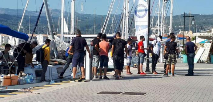 Λευκάδα: Προφυλακίστηκαν οι διακινητές των μεταναστών