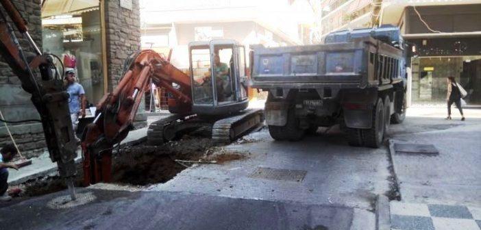 Αγρίνιο: Αναβαθμίζεται η ποιότητα ζωής στην οδό Μπαϊμπά (ΔΕΙΤΕ ΦΩΤΟ)