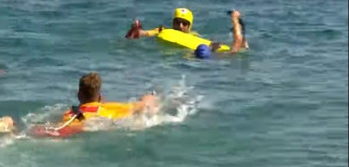 Παράκτιοι Μεσογειακοί: Καρέ – καρέ η διάσωση αθλήτριας από τους εθελοντές του ΕΕΣ (ΔΕΙΤΕ ΦΩΤΟ + VIDEO)