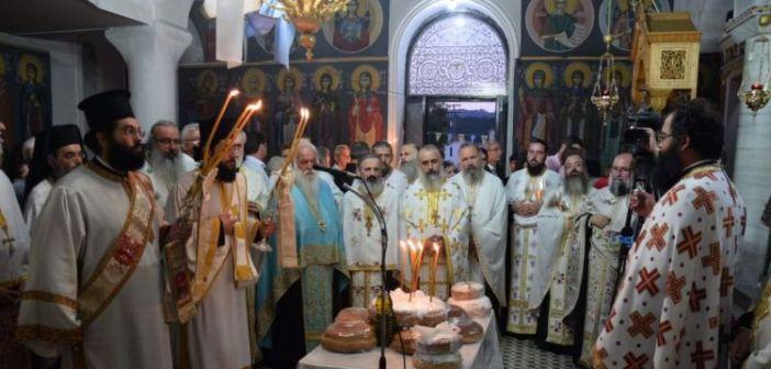 Εορτές Αγίου Κοσμά στη γενέτειρά του στο Μέγα Δένδρο Αιτωλίας (ΔΕΙΤΕ ΦΩΤΟ)