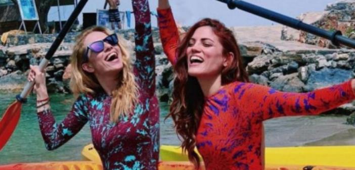 Με σκάφος στο Ιόνιο η Ντορέττα Παπαδημητρίου και η Μαίρη Συνατσάκη! (ΔΕΙΤΕ ΦΩΤΟ)