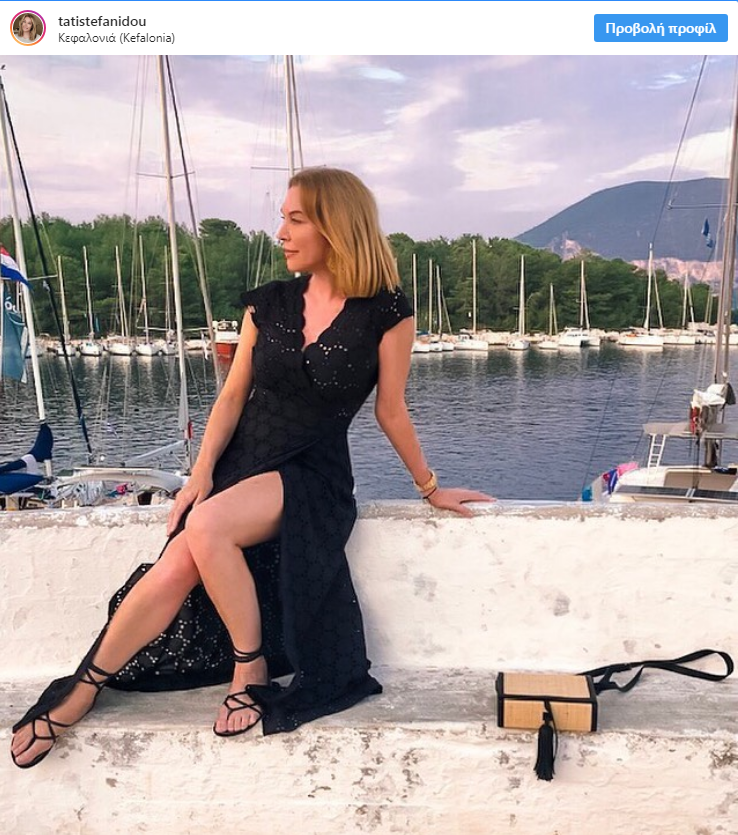 Τατιάνα Στεφανίδου: Φωτογραφίζει την κόρη της, στις καλοκαιρινές διακοπές τους στον Καστό!