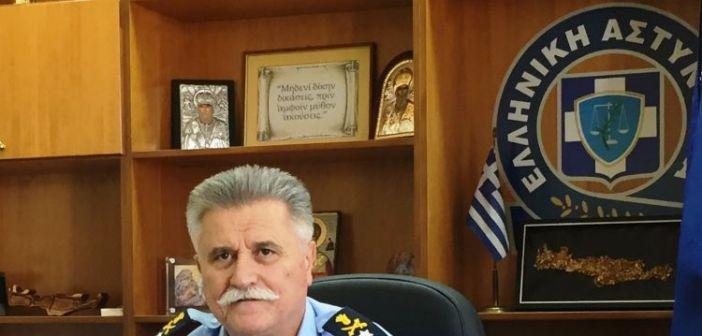 Το βιογραφικό του νέου Γενικού Περιφερειακού Αστυνομικού Διευθυντή Δυτικής Ελλάδας