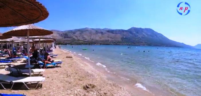 Η παραλία της Πογωνιάς στην Πάλαιρο (VIDEO)