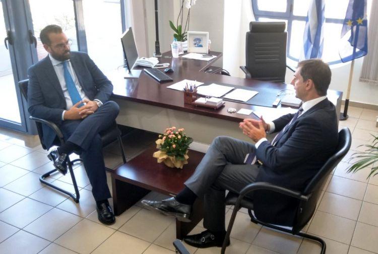 Επίσκεψη του Υπουργού Τουρισμού Χ. Θεοχάρη στην Περιφέρεια Δυτικής Ελλάδας (ΔΕΙΤΕ ΦΩΤΟ + VIDEO)