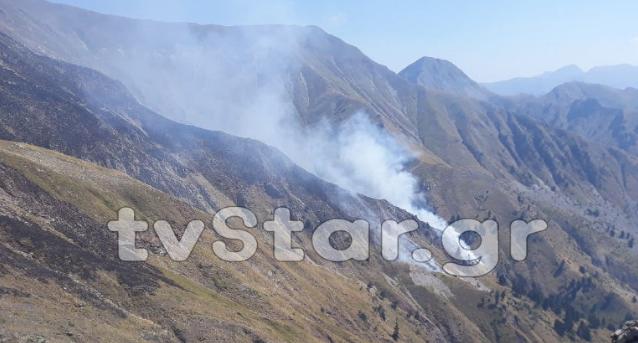 Μπαράζ από φωτιές στην Ευρυτανία (ΔΕΙΤΕ ΦΩΤΟ)