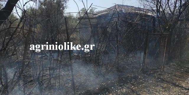 """Αγρίνιο: Κινητοποίηση της Π.Υ. για φωτιά σε οικόπεδο στο """"Γιαννούζι"""" (ΔΕΙΤΕ ΦΩΤΟ)"""