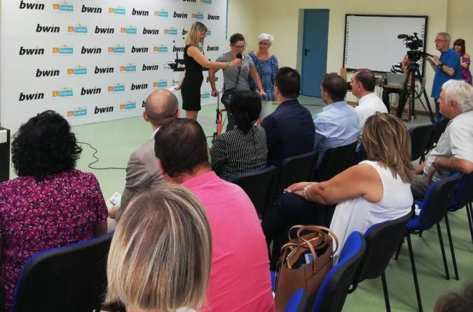Bwin: Παράδοση τμήματος Αισθητηριακής Ολοκλήρωσης στην ΕΛΕΠΑΠ Αγρινίου (ΔΕΙΤΕ ΦΩΤΟ)