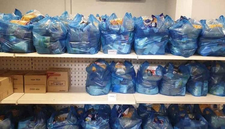 Μεσολόγγι: Διανομή τροφίμων από το κοινωνικό παντοπωλείο σε δικαιούχους