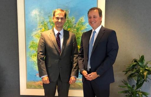 Συνάντηση Σπ. Λιβανού με τον Υπουργό Τουρισμού Χάρη Θεοχάρη (ΔΕΙΤΕ ΦΩΤΟ)