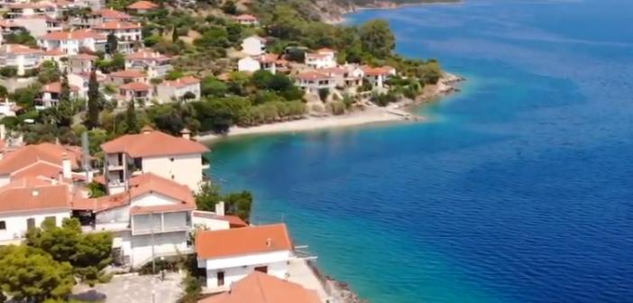 Το Μοναστηράκι Φωκίδας από ψηλά (ΔΕΙΤΕ VIDEO)