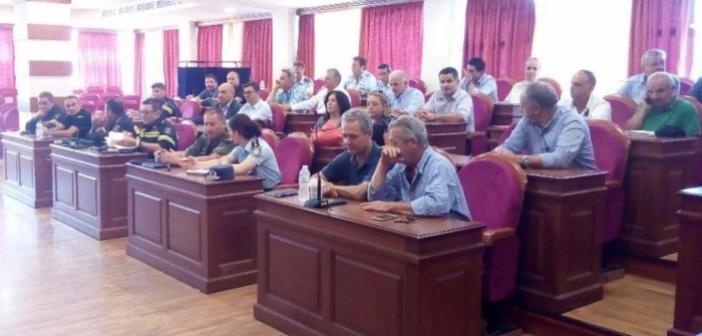 Συνεδρίασε το Συντονιστικό Όργανο Πολιτικής Προστασίας της Π.Ε Αιτωλοακαρνανίας (ΔΕΙΤΕ ΦΩΤΟ)