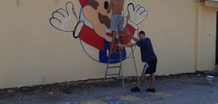 Συνεχίζεται το Graffiti στο 2ο Δημοτικό σχολείο Παναιτωλίου (ΦΩΤΟ)