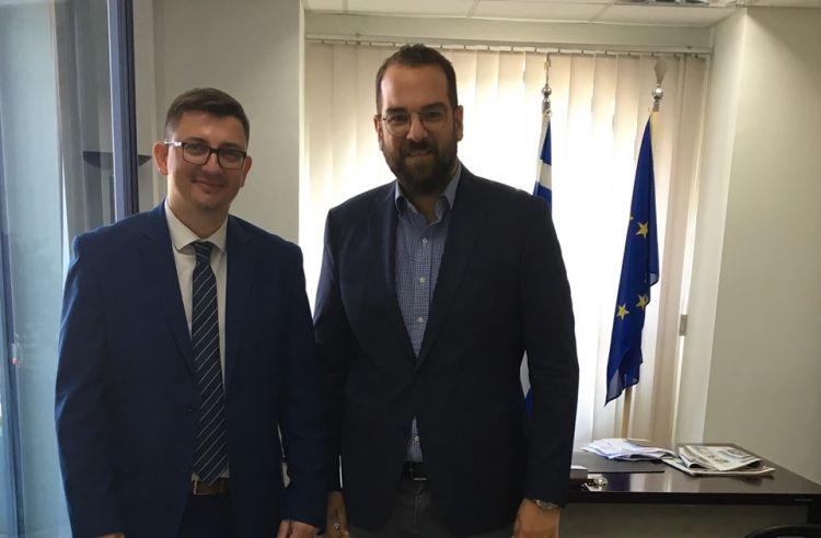 Ο Δήμαρχος Ξηρομέρου Γιάννης Τριανταφυλλάκης σε συνάντηση με τον Περιφερειάρχη Νεκτάριο Φαρμάκη (ΦΩΤΟ)