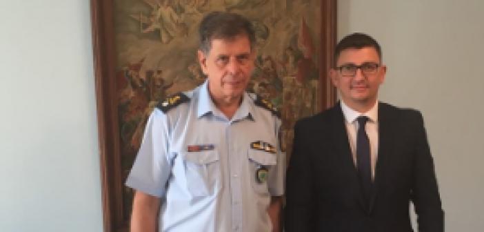 Συνάντηση Δημάρχου Ξηρομέρου με τον Αστυνομικό Διευθυντή της Διεύθυνσης Αστυνομίας Αιτωλίας (ΔΕΙΤΕ ΦΩΤΟ)