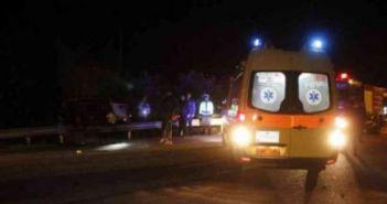 Ναύπακτος: Τροχαίο ατύχημα με τραυματισμό δύο ατόμων (VIDEO)