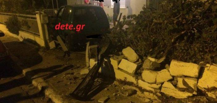 Δυτική Ελλάδα: Έσπειρε τον τρόμο Ι.Χ. – Μπήκε μέσα σε αυλή σπιτιού (ΔΕΙΤΕ ΦΩΤΟ)
