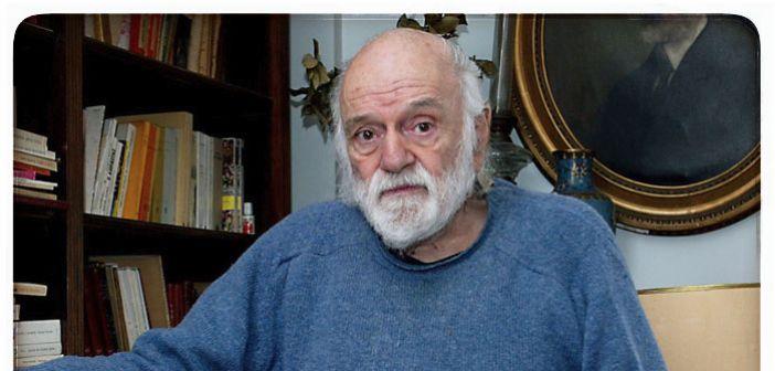 Πέθανε ο κορυφαίος Έλληνας ποιητής Νάνος Βαλαωρίτης (1921-2019)