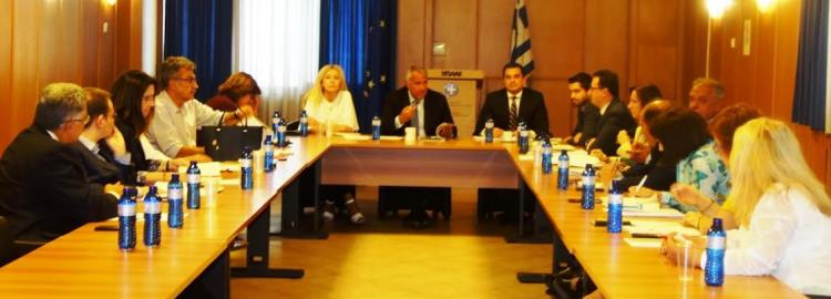 Ενεργοποιήθηκε το Συμβούλιο Στρατηγικού Σχεδιασμού του ΥπΑΑΤ (ΦΩΤΟ)