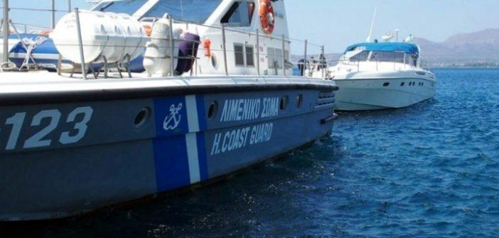 Λευκάδα: Εισροή υδάτων σε σκάφος στο Νυδρί