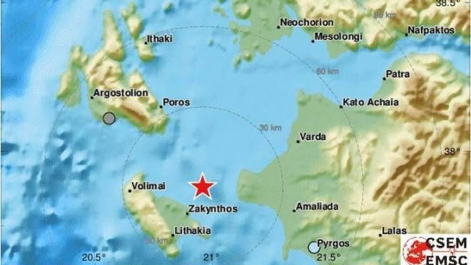 Σεισμός 3,9 στη Ζάκυνθο