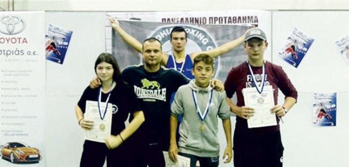 Με 4 ασημένια ο Πυγμαχικός Αμφιλοχίας στο Πανελλήνιο πρωτάθλημα (ΦΩΤΟ)