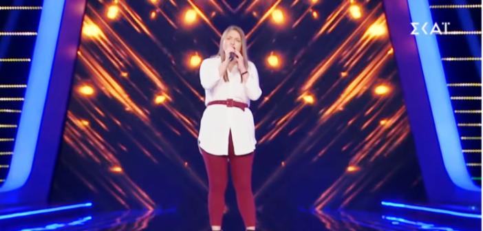 «The Voice»: Μία Αγρινιώτισσα στην ομάδα της Έλενας Παπαρίζου (VIDEO)