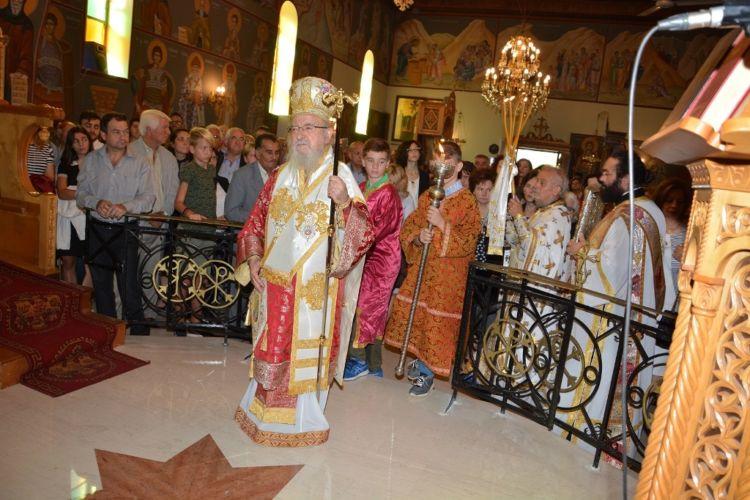 Εγκαινιάστηκε ο Ιερός Ναός Αγίου Αθανασίου Γιαννουζίου (ΔΕΙΤΕ ΦΩΤΟ)