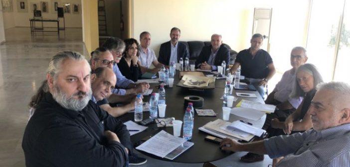Μεσολόγγι: Συνεδρίαση του Διοικητικού Συμβουλίου στο Κέντρο Χαρακτικών Τεχνών Μουσείο «Βάσως Κατράκη» (ΦΩΤΟ)