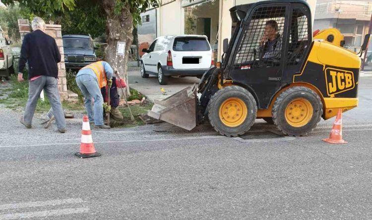 Εργασίες καθαρισμού φρεατίων στο Καινούργιο (ΔΕΙΤΕ ΦΩΤΟ)