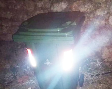 Αντικαταστάθηκε άμεσα ο κάδος απορριμάτων στη Παναγούλα Ξηρομέρου (ΦΩΤΟ)