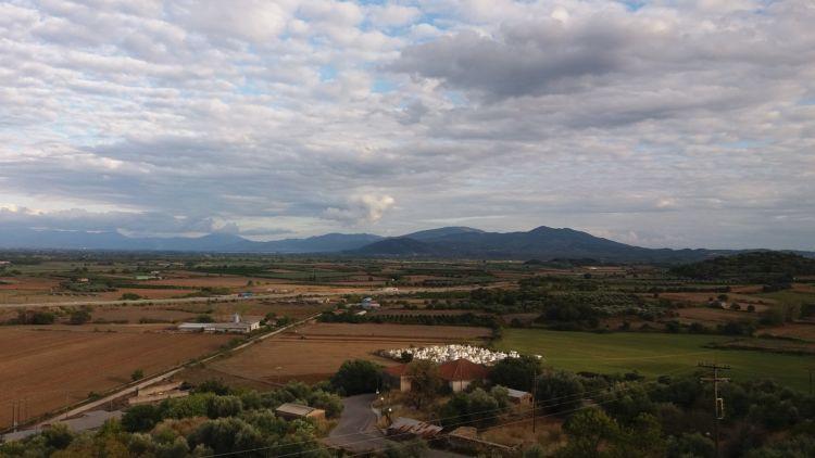 Με θέα τον κάμπο της αιτωλικής γης (ΦΩΤΟ)