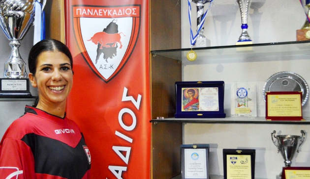 Λευκάδα – Νικολέτα Κονδυλάτου: «Όσα κορίτσια αποφασίσουν να παίξουν ποδόσφαιρο τα περιμένουμε στην ομάδα»