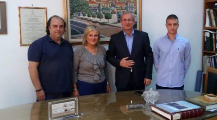 Επίσκεψη Συντονιστικής Επιτροπής του ΜέΡΑ25 Αιτωλοακαρνανίας στον Δήμαρχο Θέρμου