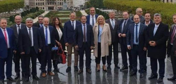 Στην Ευρωπαϊκή Εβδομάδα Πόλεων και Περιφερειών στις Βρυξέλλες ο Δήμαρχος Θέρμου (ΔΕΙΤΕ ΦΩΤΟ)
