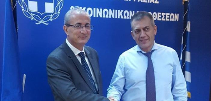 Συνάντηση Κωνσταντάρα – Βρούτση – Στο επίκεντρο το πρόγραμμα Κοινωφελούς Απασχόλησης στους ορεινούς δήμους (ΦΩΤΟ)