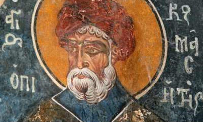 Εορτάζει σήμερα ο Άγιος Κοσμάς ο Μελωδός