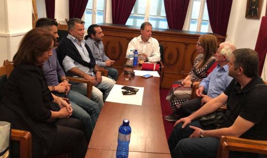 Συνάντηση Σπήλιου Λιβανού με το Τοπικό Συμβούλιο Μεσολογγίου (ΔΕΙΤΕ ΦΩΤΟ)