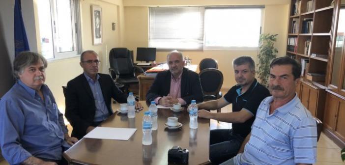 ΚΚΕ: Συναντήσεις Παπαναστάση με τους δημάρχους Μεσολογγίου και Ναυπακτίας (ΦΩΤΟ)